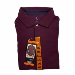 Tailorbyrd Long Sleeve Button Front Comfort Shirt